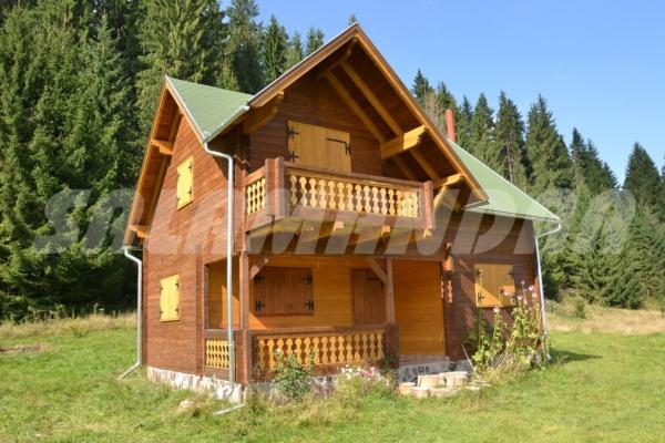 Villa in legno v 22 for Interno case americane